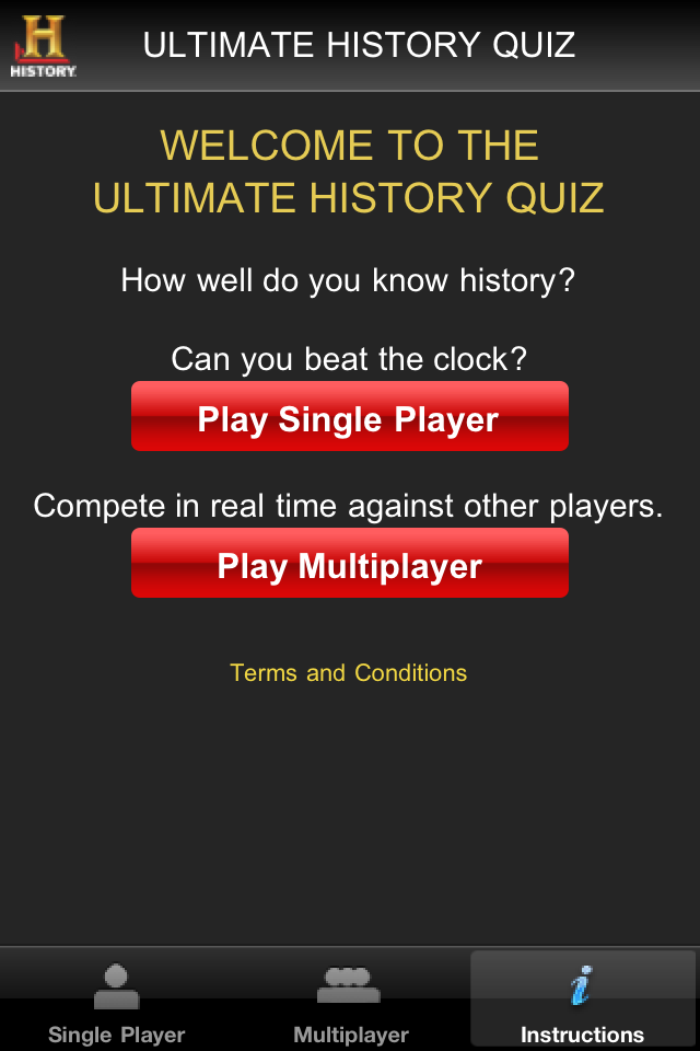 Screenshot Ultimate History Quiz
