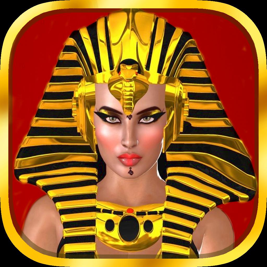 All Pharaoh Queens Mega Slots Machine - Bonus Wheel and Multiple Paylines Edition Free